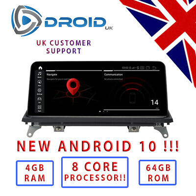 BMW F15 F16 E70 E71 X5 X6 Neuf 2019 Android 8.1 6 Core 26cm GPS Voiture