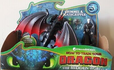 How to Train Your Dragon & Viking The Hidden World Grimmel & Deathgripper