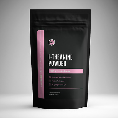 L Theanine Powder (50g) Pharmaceutical Grade - Nootropic Source