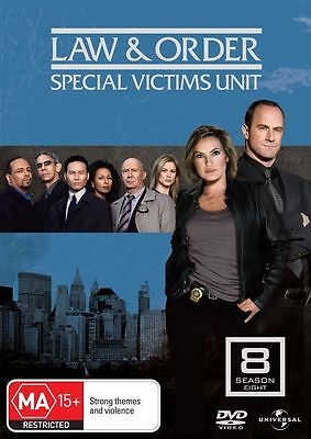 Law And Order SVU - Special Victims Unit : Season 8 DVD : vgc