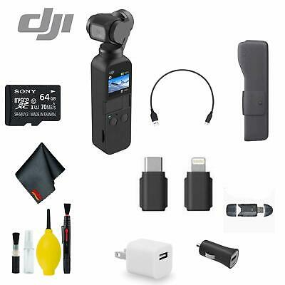 DJI Osmo Pocket Handheld 3 Axis Gimbal Stabilizer Bundle 3