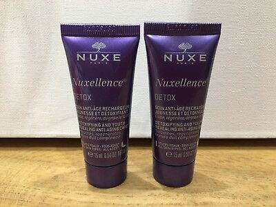 NUXE Nuxellence Detox Youth Revealing Anti-Aging Night 30ml (2x15ml) Exp 03/20