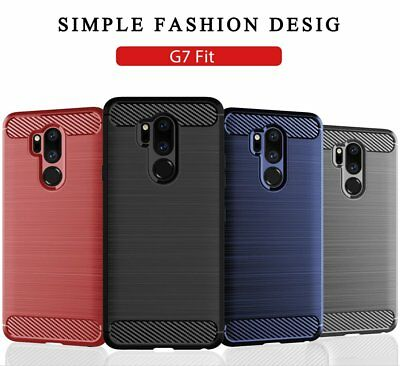 For LG G7 Fit Luxury 360°Shockproof Silicone Hybrid Case Soft TPU Cover