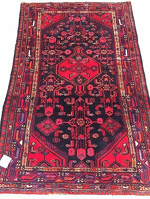 Tapis nomade noué main laine rugs carpet wool tappiche tappeto alfombra 157x100c