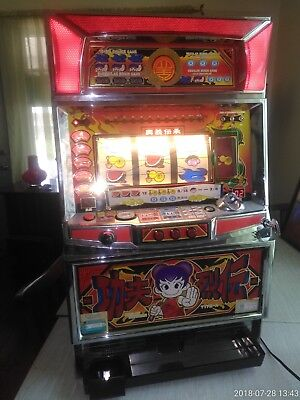 """Pachislo """"Kung Fu Rets"""" Classic 3 Reel Slot Token Machine, Personal Use Only"""