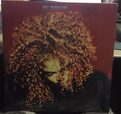 JANET JACKSON - The Velvet Rope - 2 LP VINYL 1997  - NEW SEALED MINT Last Copy