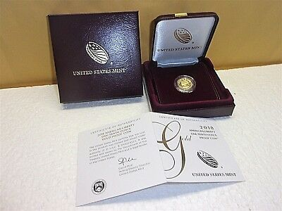 2008-W 1/10 oz Proof Gold American Eagle (w/Box & COA)
