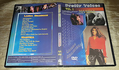DVD Martika & Laura Branigan - Pretty Voices Vol. 1, Very good DISC! Look!