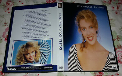 Kylie Minogue - Ultimix DVD - Hits Remixed on video - Very good! Fan Edition