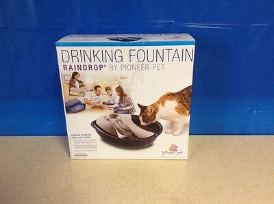 Pioneer Raindrop Stainless Steel Pet Drinking Fountain 5995
