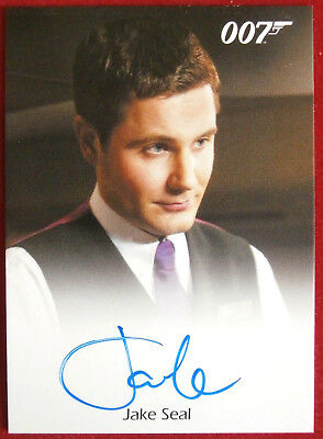 JAMES BOND - Quantum of Solace - JAKE SEAL as Bartender - Autograph Card