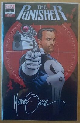 Punisher Variant #2 Vol. 12 Limited To 3000 Mike Zeck Gem, Signed With COA