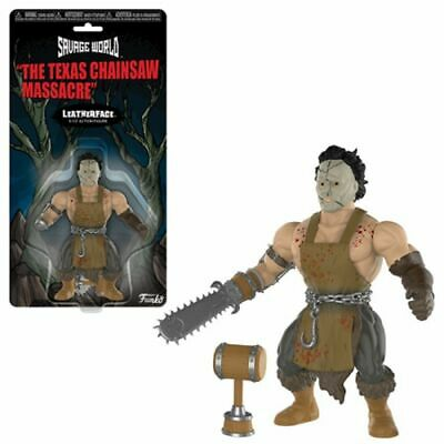 Action Figure Toy - Horror - Savage World - Texas Chainsaw Massacre- Leatherface
