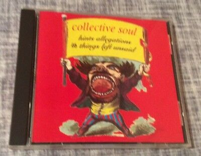 Collective Soul- 1993 CD Hints Allegations & Things Left Unsaid