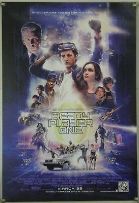 Ready Player One Ds Rolled Orig 1Sh Movie Poster Steven Spielberg (2018)