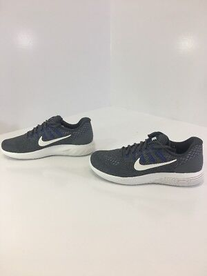 5149c8abc4a0 Nike Men s Lunarglide 8 Running Shoes 843725-013 Charcoal Size 8 New