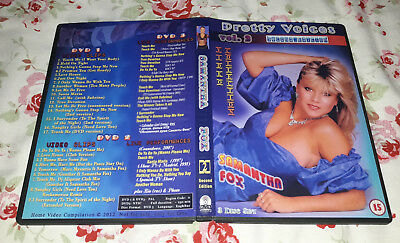 Samantha Fox - Pretty Voices 2 (Second edition) (3 DVDs) FAN EDITION, Very good!