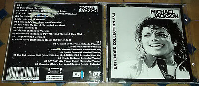 Michael Jackson - Extended Collection 3 & 4 (2 CDs) - SPECIAL FAN EDITION
