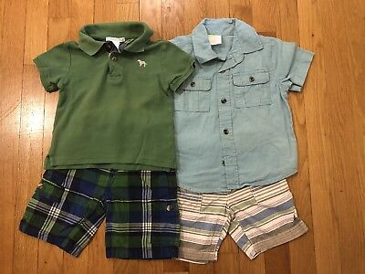 Janie And Jack Crazy 8 Boys Clothing Lot Size 18-24 Months