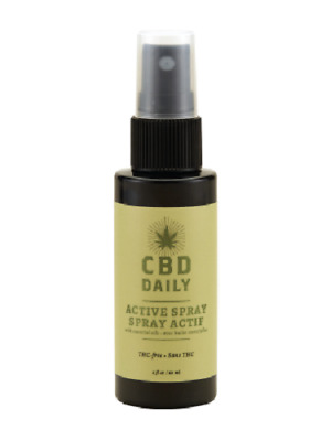 CBD Daily Active Hemp Oil Joint Muscle Pain Relief THC Free 2 Oz