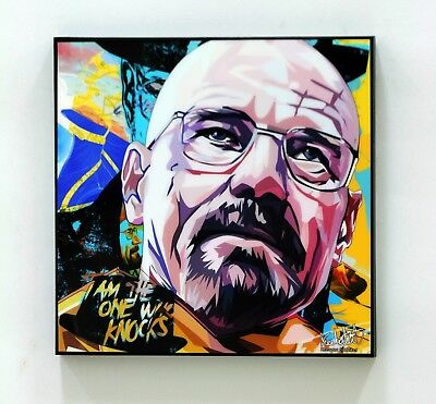 Walter White (Breaking Bad) ❤️ canvas quotes wall decals photo framed pop art