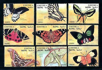 [90934] Eritrea 1997 Insects Butterflies From Sheet MNH