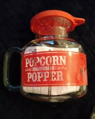 Sharper Image Microwave Popcorn Popper Melts Butter Too Awesome Six