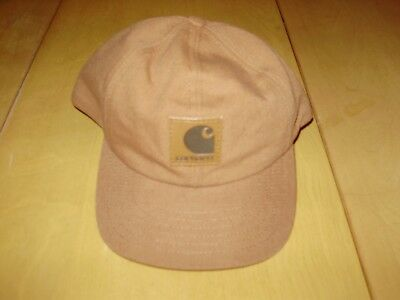 VINTAGE CARHARTT DUCK CANVAS SNAPBACK HAT made in USA