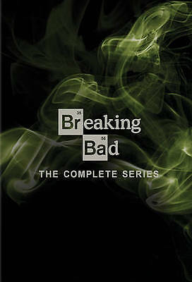 Breaking Bad: The Complete Series (DVD, 2014, 21-Disc Set season 1-6 SEALED NEW