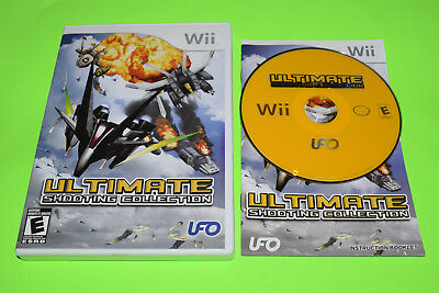 Ultimate Shooting Collection Nintendo Wii Complete TESTED WORKS