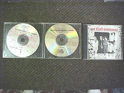 VELVET UNDERGROUND FULLY LOADED DBL cd set AND THE BEST OF 3 CD LOT LOU REED