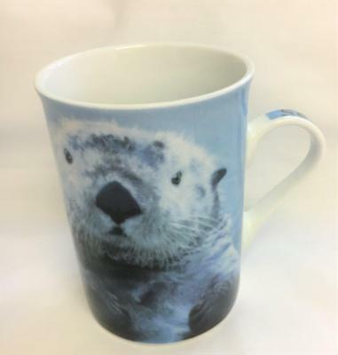 2008 Paul Cardew Sea Otter Coffee Mug Cup Wild Cafe Designed In England