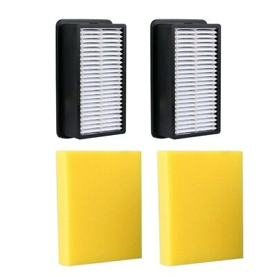 4X(2-Pack - For Bissell 1008 Compatible Pre-Motor Foam Filter and Post-Motor P3