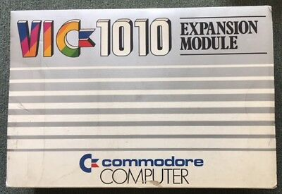 Extremely Rare Commodore VIC-1010 Memory Expansion Module - BNIB *FREE DELIVERY*