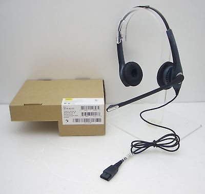 Jabra GN2000 Duo QD IP Office Phone Noise-Cancelling Headset + GN1200 Cable