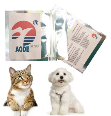 30-120 Tabs Dog Cat pig Sheep chicken Pet Animal Wormer Worming Tablets Dewormer