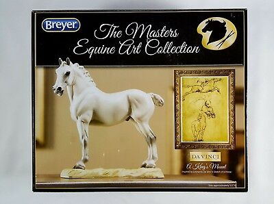 Breyer Horse The Masters Equine Art Collection Da Vinci A King's Mount NEW