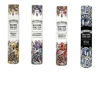 Poo-Pourri Travel Size Before You Go Bathroom Spray 20 use (10 ml)