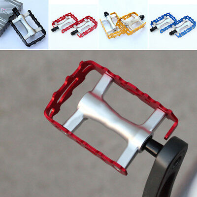 Pedal Aluminum Alloy Cycling Bicycle Replacement Parts Lightweight MTB 9cm New