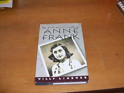 The Last Seven Months of Anne Frank by Willy Lindwer (1991,HCDJ)