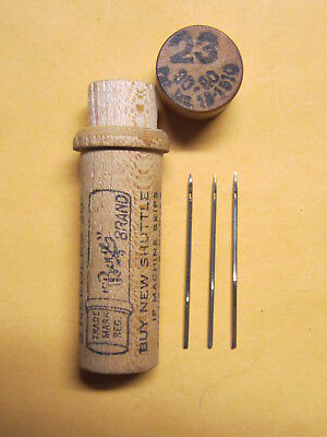 Boye 12x1 Needles for Singer 12, 12K Sewing Machine or Toy