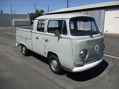 1971 Volkswagen Bus/Vanagon Double Cab 1971 VW Bus Double Cab, Crew Cab Transporter, Bay Window, Volkswagen Type 2