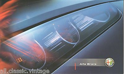 ALFA ROMEO - BRERA small brochure/folder German