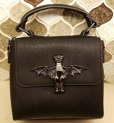 Disney Parks Halloween The Haunted Mansion Crossbody Purse Bag by Loungefly NWT