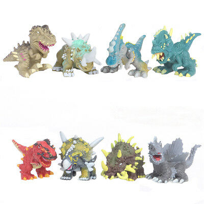 Dinosaur Monster Tyrannosaurus Rex Triceratops 12PCS Action Figure Toy For Kid