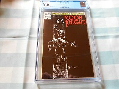 Moon Knight #25 Cgc 9.6 (1St Black Spectre) (Combined Shipping Available)