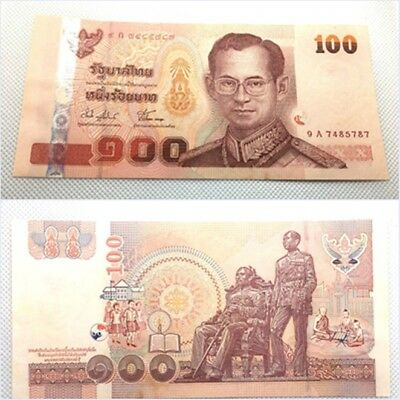 Thai Banknote 100 Baht Series#15 Version 1 Released 25.11.2004 (BE 2547) AU-UNC