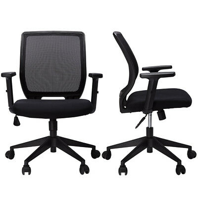 High Quality Office Chair Mesh Swivel Computer Desk Height Adjustable Gas Lift !