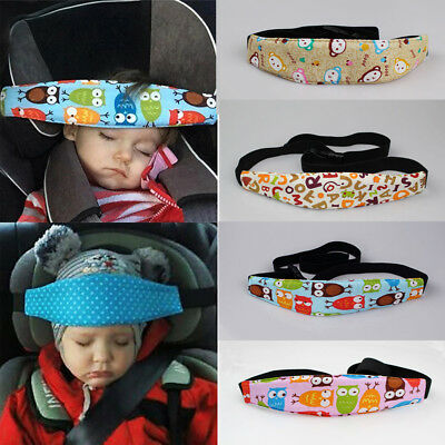 Baby Safety Car Seat Sleep Nap Aid Child Kid Head Protector Belt Support Holder@