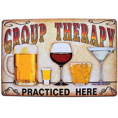 Vintage Tin Metal Sign Plaque Bar Pub Retro Wall Decor Poster Home Group